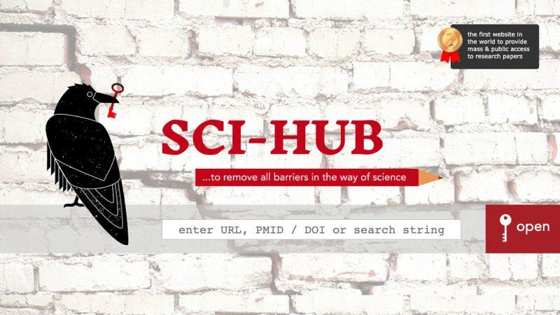 除了川普,全球最大科學論文共享平台 Sci-Hub 推特帳號被永久查封