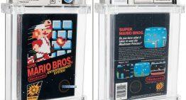 初代馬利歐兄弟再創史上最高價軟體,66 萬美金