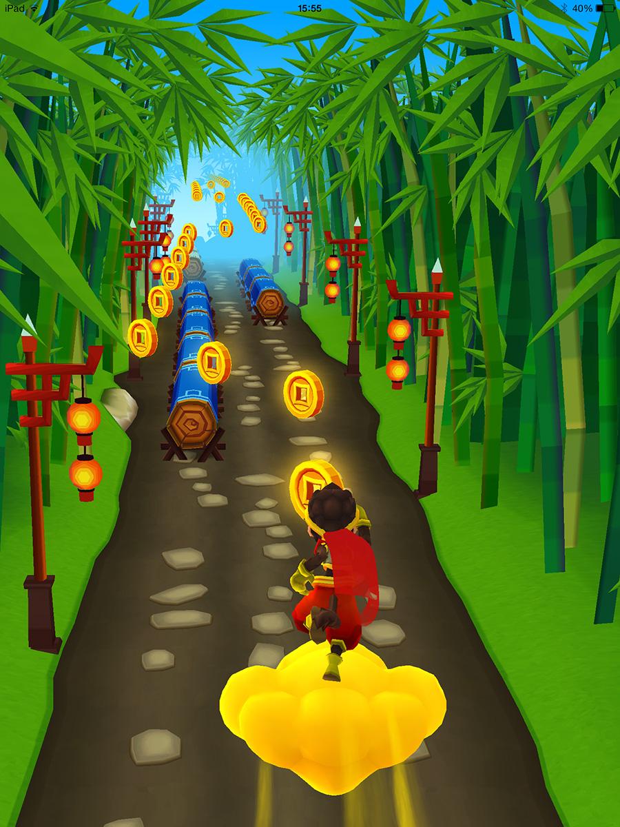 啟發自中國神話西遊記:《Monkey King Escape 跑跑西遊》