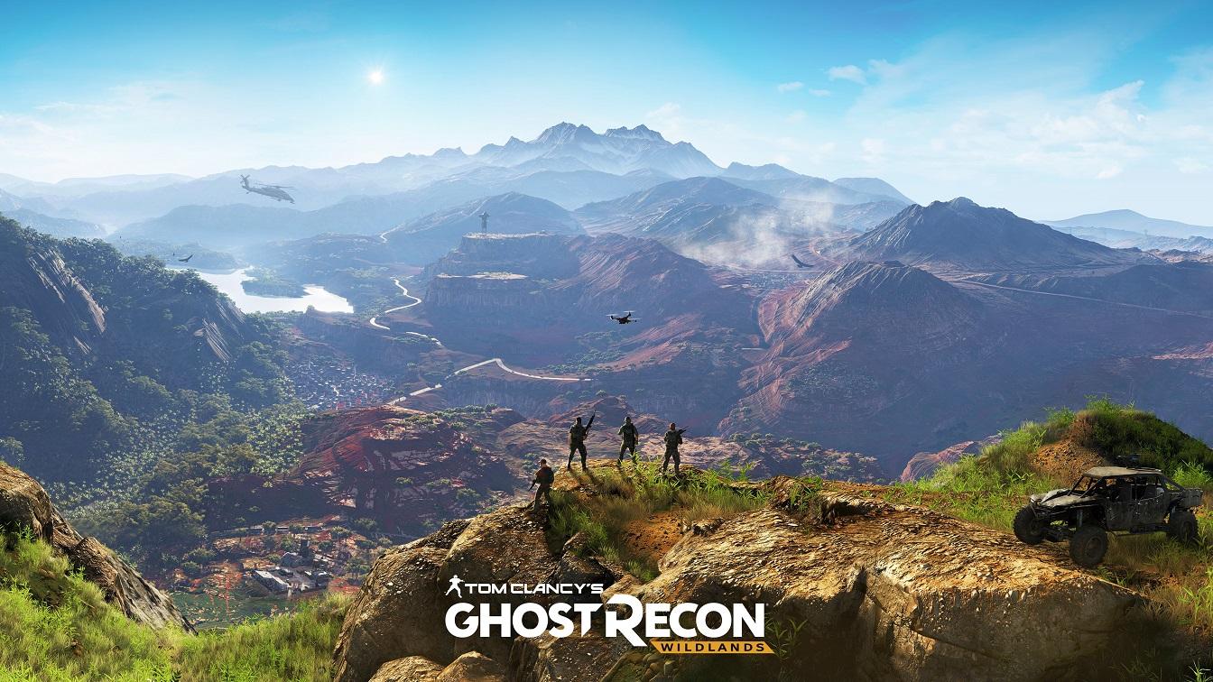《火線獵殺:Wildlands》 經典軍事射擊遊戲邁入開放式世界
