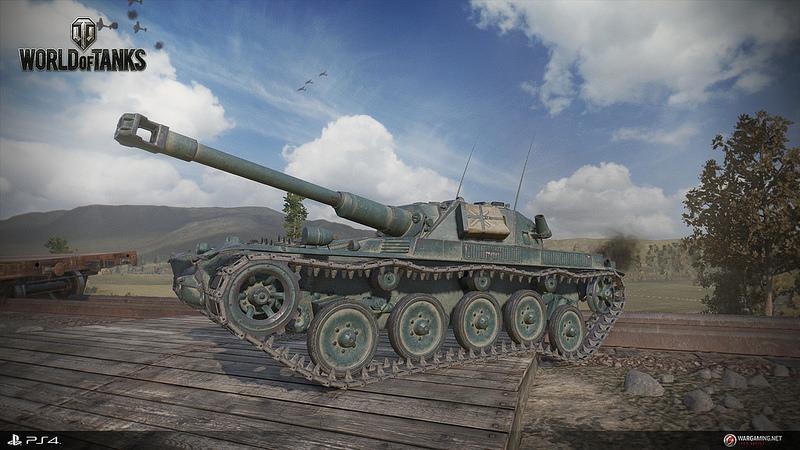 《戰車世界》將在 PlayStation 4 上登場!