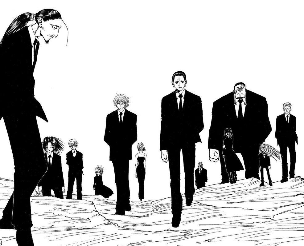 天才就是任性:冨樫創造的漫畫偉大紀錄處於最終防衛線,不是休刊喔!