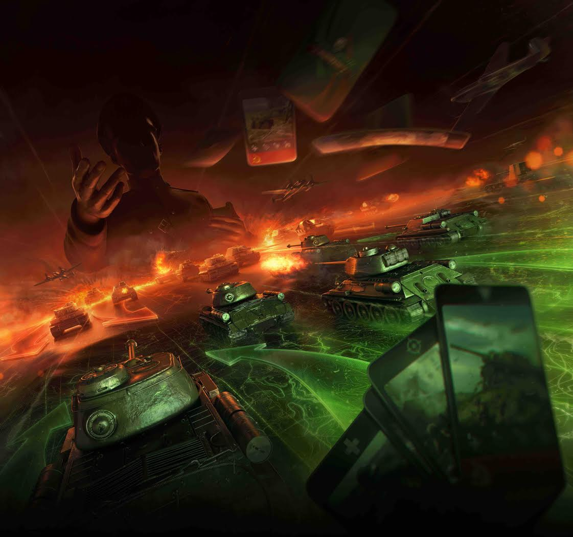 《戰車世界:點將錄》Wargaming 首款卡牌遊戲展開史詩般的二戰對決
