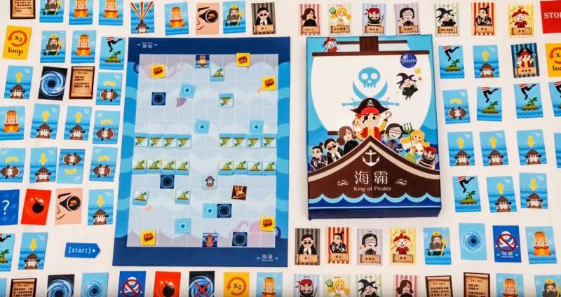 《海霸》:交大學生自製桌遊,讓孩童輕鬆學習程式概念