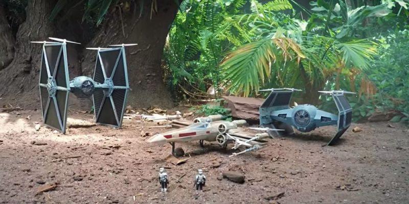 無人機、模型和微電影:《星際大戰》自製影片的精彩組合