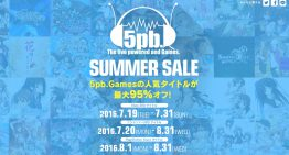5pb. 遊戲祭典大特價,最低僅 108 日幣