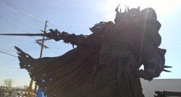 紀念創立 25 週年,巨大《魔獸世界》巫妖王阿薩斯正在臺灣