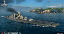 《戰艦世界》釋出德國戰鬥艦科技樹,再度掀起驚滔駭浪