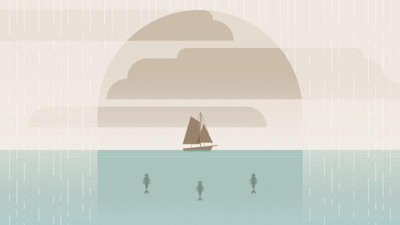 《大男的荒海歷險》:每次航行都是全新繪本!