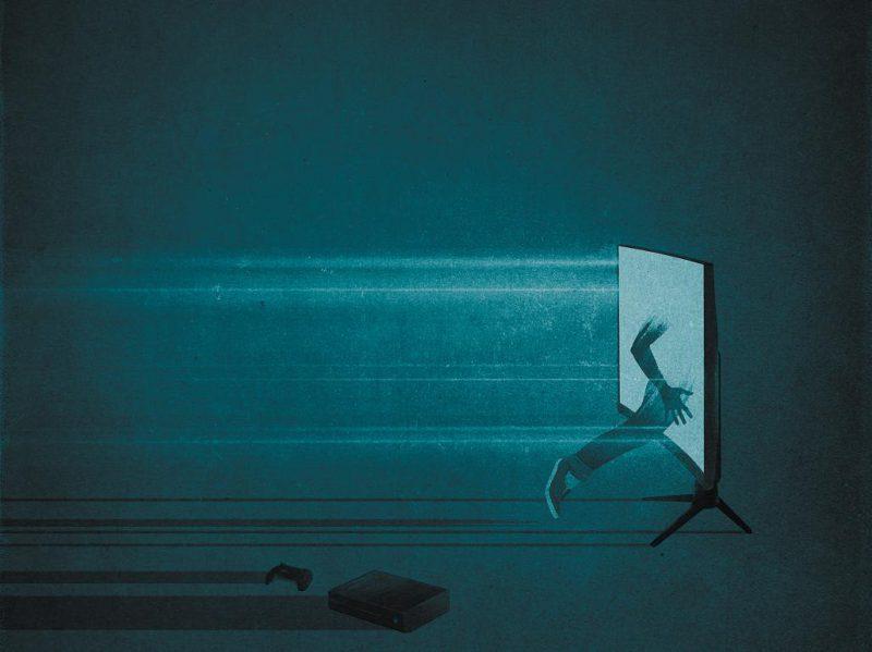 逃往另一個世界:遊戲沈迷與工作持續