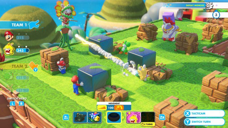 《瑪利歐 + 瘋狂兔子 王國之戰》已於任天堂 Switch 平台獨占上市