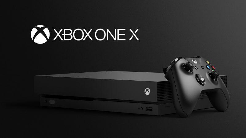XBOX ONE X 將於 11 月 7 日發售