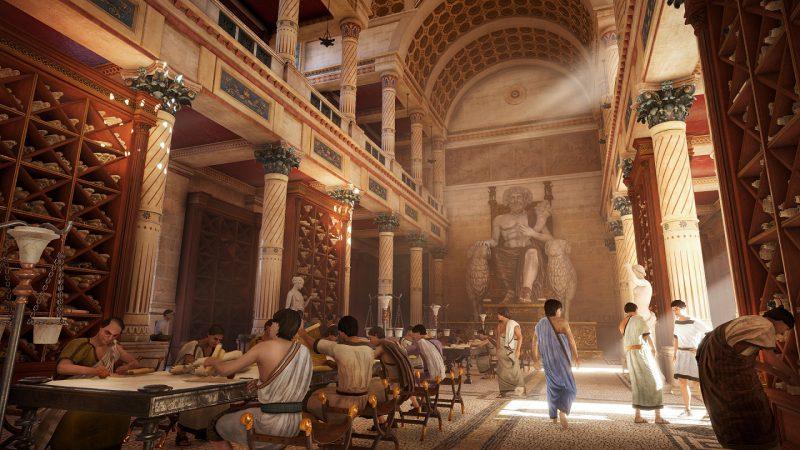 UBISOFT 埃及象形文字計劃|研究專案連結歷史與科技