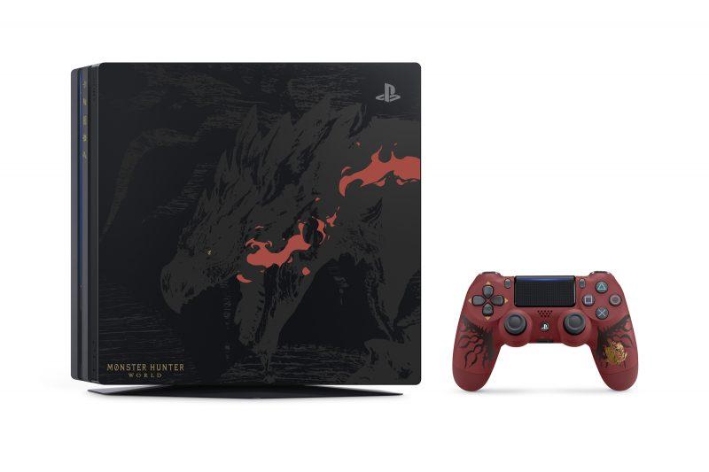 《魔物獵人 世界》PS4 Pro 同捆機將於2018 年 1 月 26 日限量發售