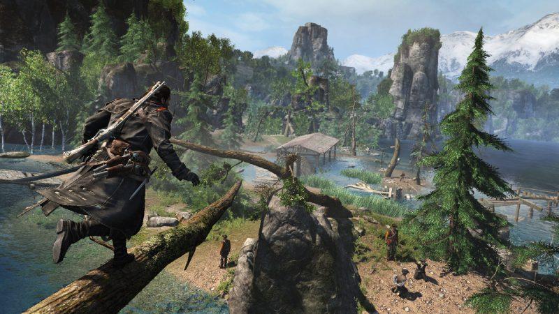 《刺客教條:叛變 重製版》現已於 PS4 與 Xbox One 平台推出