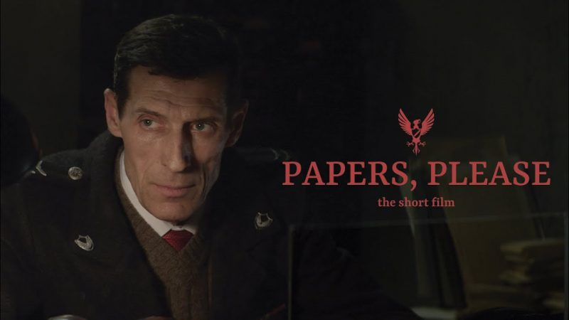 Papers, Please:巨大集權國家中,一位掌握重要權力低階官員的兩難