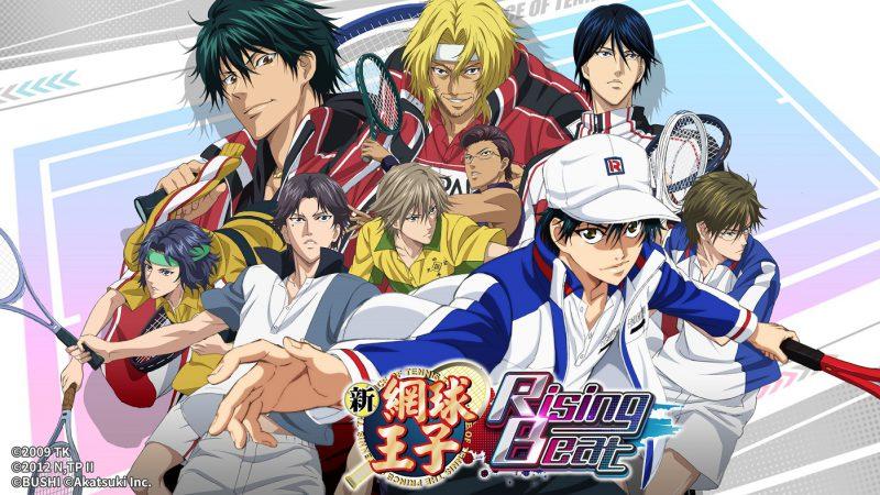日本人氣排行音樂手遊《新網球王子RisingBeat》繁體中文版本公開