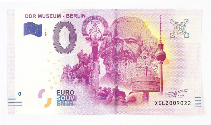 是一文不值或一紙千金?歐盟推出紀念馬克思的零元紙鈔