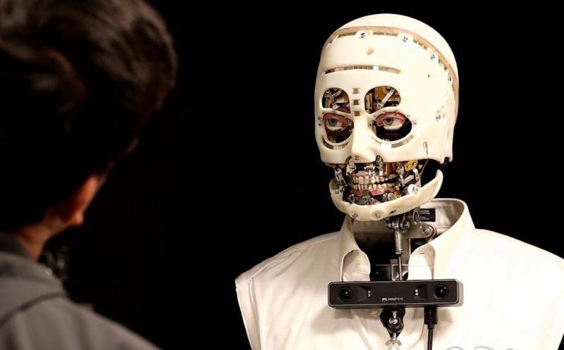 眼神交流:迪士尼的機器人互動擬真性研究