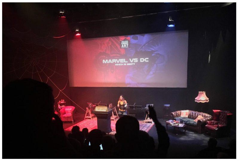 MARVEL 對決 DC :誰比較偉大?一場在英國 LICAF 漫畫節的大辯論