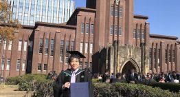 浦飯幽助從東京大學法學部畢業