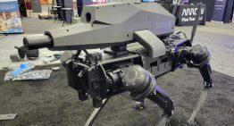 四足機器狗配置自動兵器 SPUR